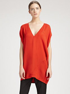Costume National - V-Neck Top