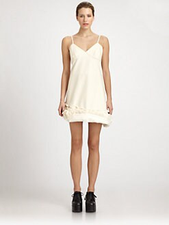 Comme des Garcons - Cotton Twill Spaghetti Strap Dress