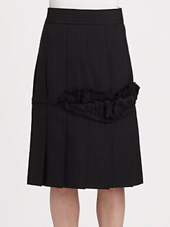Comme des Garcons - Dobby Stripe Skirt