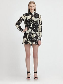 Thakoon - Floral Short Jumpsuit