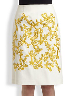Thakoon - Embroidered Skirt