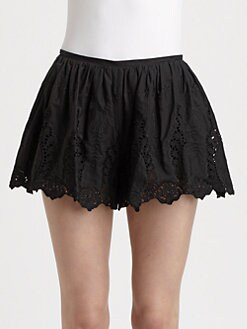 Thakoon - Eyelet Lace Shorts