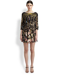 Thakoon - Silk Birdcage Print Dress