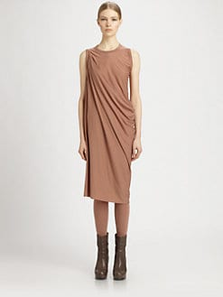Rick Owens Lilies - Side Drape Dress