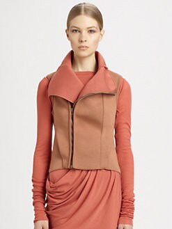 Rick Owens Lilies - Two-Tone Scuba Vest