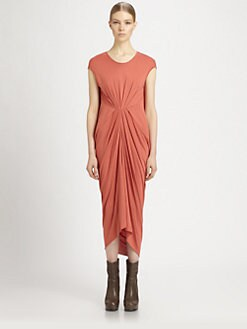 Rick Owens Lilies - Center Gather Dress