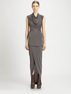 Rick Owens Lilies - Cross-Drape Top