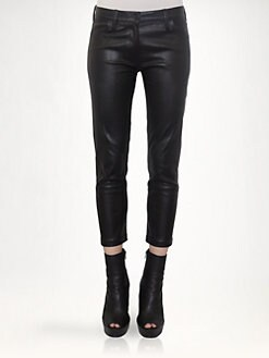 Ann Demeulemeester - Leather Pants