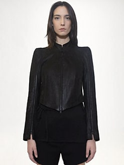 Ann Demeulemeester - Adina Leather Jacket