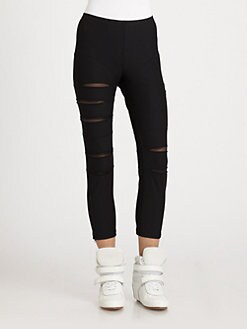 Junya Watanabe - Mesh Inset Leggings