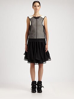 Junya Watanabe - Mesh Bi-Color Top