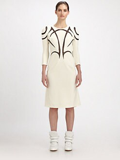 Junya Watanabe - Mesh Inset Dress