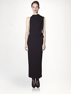 Haider Ackermann - Silk Backless Dress