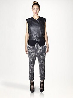 Haider Ackermann - Pascolini Leather Waistcoat