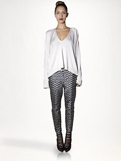 Haider Ackermann - Silk Vilmorin Top