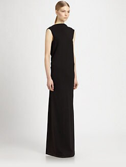 Rick Owens DRKSHDW - Back-V Maxi Dress