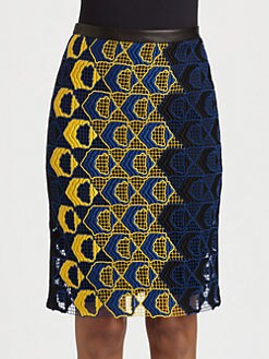 Derek Lam - Lace Peg Skirt