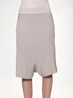 Rick Owens - Silk Bias Pod Shorts
