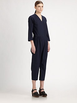 A Detacher - Cotton Poplin Jumpsuit