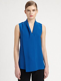 Derek Lam - Draped Silk Blouse