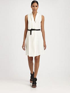 Derek Lam - Belted Silk Dress