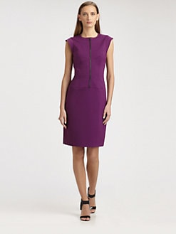 Derek Lam - Twill Zip-Front Dress