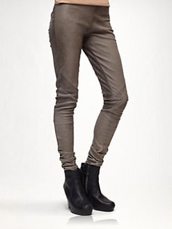 Rick Owens - Leather Leggings