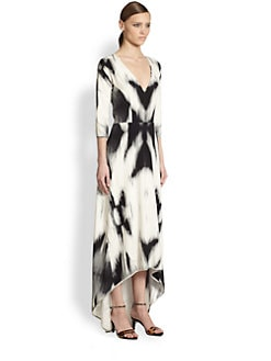 Zero + Maria Cornejo - Dancer Print Silk Dress