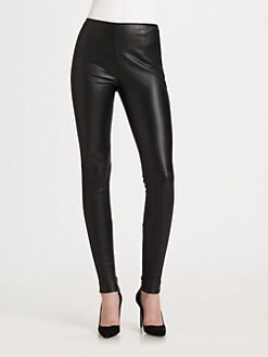 Peter Som - Stretch Leather Leggings