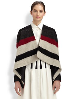 Thakoon - Striped Drape Jacket