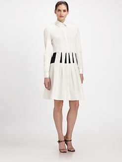 Thakoon - Seamed Shirtdress