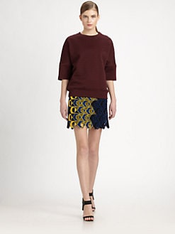 Derek Lam - Quilted Jersey Pullover