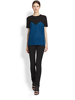Derek Lam - Double-Knit Jersey Tee