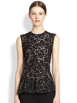 Derek Lam - Seamed Lace Top