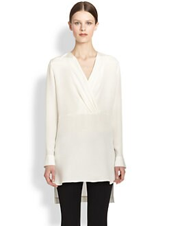 Derek Lam - Silk Tunic Blouse