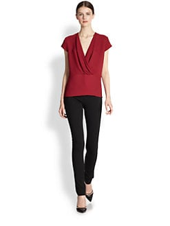Derek Lam - Cross-Over Blouse