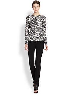 Derek Lam - Printed Silk Blouse