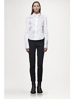 Ann Demeulemeester - Cropped Wool Pants
