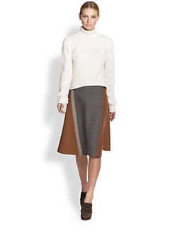 Derek Lam - Cropped Cashmere Turtleneck Sweater