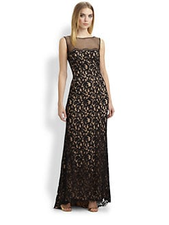 Tadashi Shoji - Lace Gown