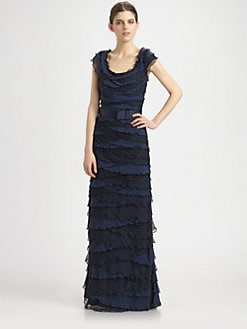 Tadashi Shoji - Ruffle Gown