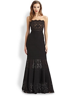 Tadashi Shoji - Lace Detail Dress