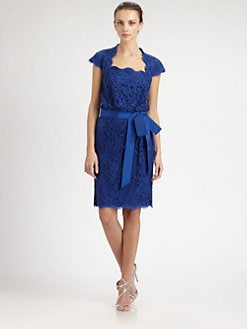 Tadashi Shoji - Blouson Lace Dress