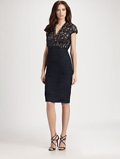 Tadashi Shoji - Ruched Dress