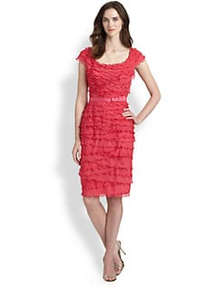 Tadashi Shoji - Tiered Dress