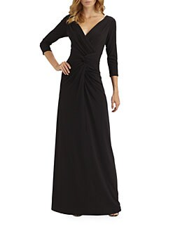 Tadashi Shoji - Jersey Gown
