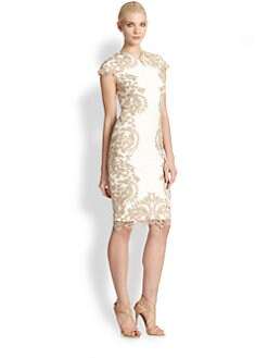Tadashi Shoji - Embroidered Cocktail Dress