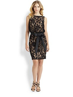 Tadashi Shoji - Lace Bow Dress