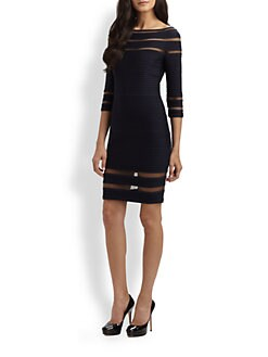 Tadashi Shoji - Pintuck Dress