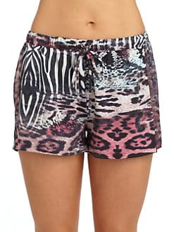Nicole Miller - Wild Animal Shorts